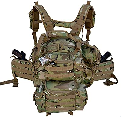Explorer Tactical Gun Concealment Backpack With Molle Webbing Hydration Ready