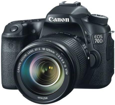 Canon EOS 70D - Cámara digital (20.2 MP, CMOS, TTL) con ...
