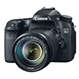 Canon EOS 70D Fotocamera Reflex Digitale, 20.2 Megapixel con Obiettivo EF-S 18-135mm IS STM Nero/Antracite