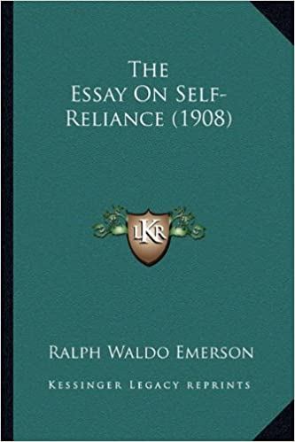 Essays On Science And Technology Amazoncom The Essay On Selfreliance   Ralph Waldo  Emerson Books The Yellow Wallpaper Critical Essay also Example Essay Thesis Statement Amazoncom The Essay On Selfreliance   Ralph  Good High School Essays