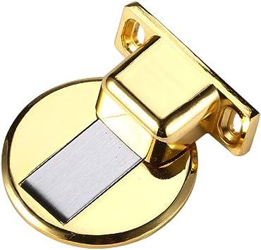 Door Suction Stopper Telescopic Stainless Steel Magnetic Door Stop Catch Door Suction with Mounting Screws