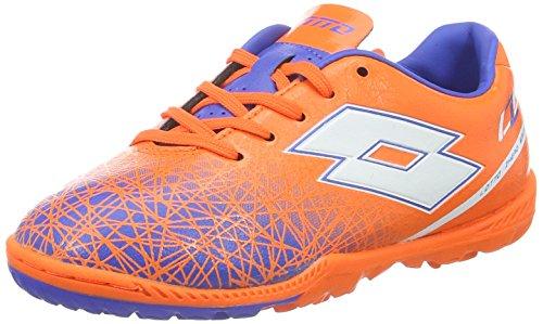 Lotto Unisex Baby Lzg VIII 700 TF Jr Fußballschuhe Orange (FANT FL/WHT)