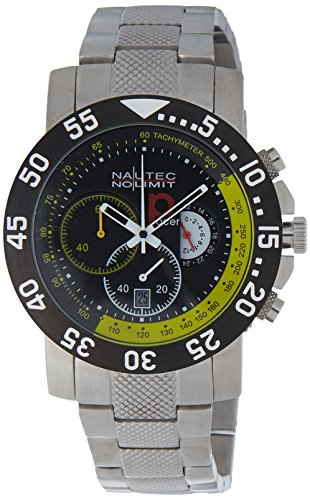 Nautec No Limit Men's Watch(Model: RP QZ/STSTBKYL)