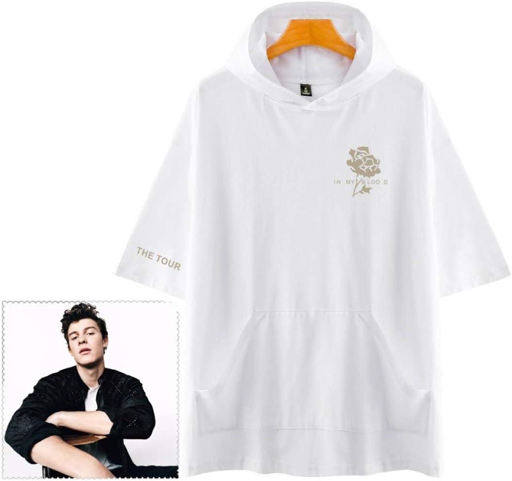 Shawn Mendes Camiseta Tapa de Lluvia Ajustado Paño de Gafas ...