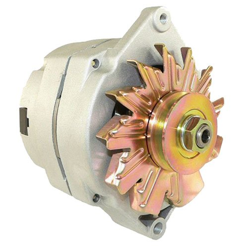 Db Electrical Adr0335 Alternator For High Output Chevy One 1 Wire 105 Amp, High Output Chevy One 1 Wire 105 Amp Delco 10Si Self-Exciting, Bbc Sbc Chevy Alternator 105 Amp 1 Wire Ho ()
