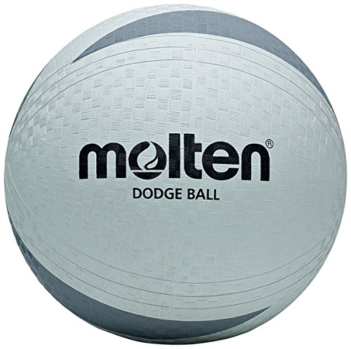 Molten D2s1200-uk Dodgeball Sports Soft Touch Moulded Match Playing Ball by Molten