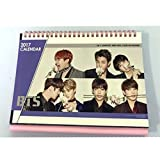 BTS Bangtan Boys 2017 Desk Calendar with Stickers