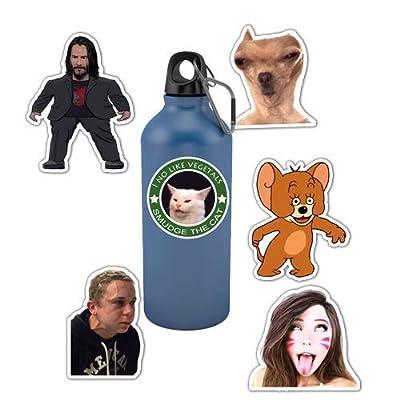 Mr.lucky Artwork S5/Meme Stickers 6pcs 4'': Toys & Games