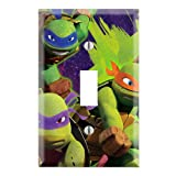 ninja turtle light cover - Ninja Turtles Decorative Single Toggle Light Switch Wall Plate Cover