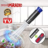 ShowDoo Vacuum Attachments with Universal Adapter Dusty Brush with Suction Tiny Tubes Flexible Access to Anywhere, Compatible with Series (V6 V8 V7 V10)