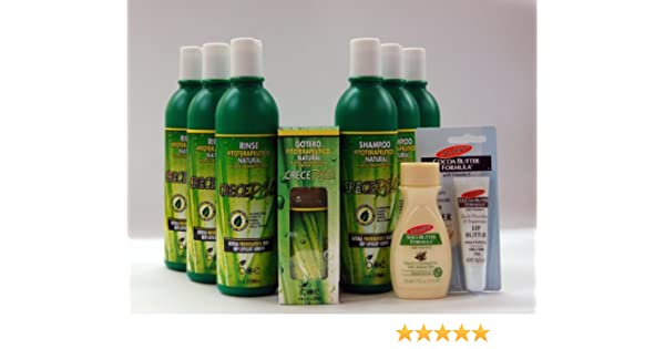 Amazon.com : Dominican Hair Care Crece Pelo Multi Pack Combo Deal!!!! : Shampoo And Conditioner Sets : Beauty