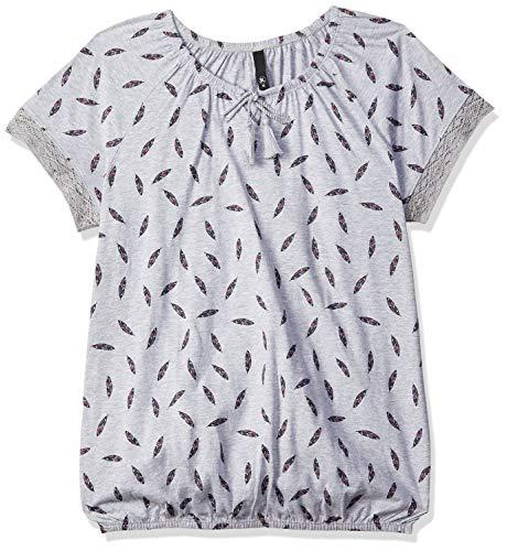 MAX Women's Printed Tie-Up Neck Top