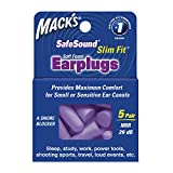 Health & Personal Care : Mack's Ear Care Slim Fit Soft Foam Earplugs, 5 Count (Pack of 6)