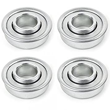 Rodamientos para rueda cortadora diámetro 28,6 mm par 4 - Pieza ...