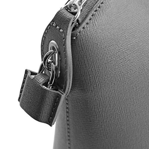 TUSCANY LEATHER - Bolso al hombro de Piel para mujer marrón marrón Taille Unique