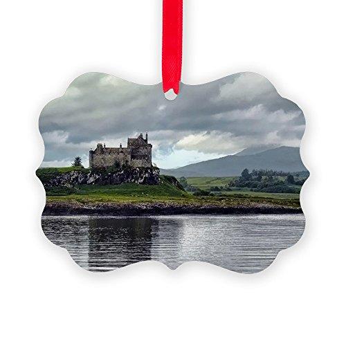 CafePress - Duart Castle, Scotland - Christmas Ornament, Decorative Tree Ornament