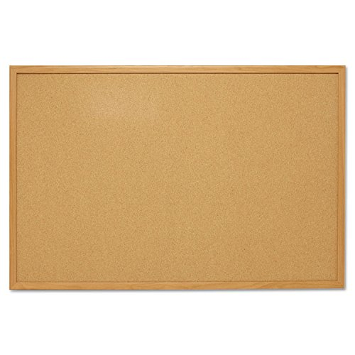 Cork Board, Oak Frame Size: 3'x4' Economy Oak Frame Cork Boards