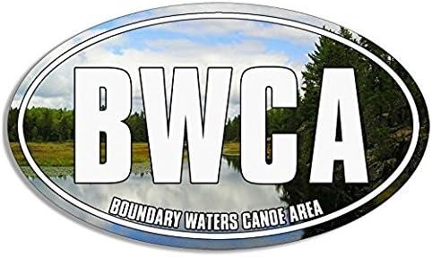 Vintage Bwca Canoe /& Trees Design Sticker Vinyl Decal Wall Laptop Window Car Bumper Sticker 5