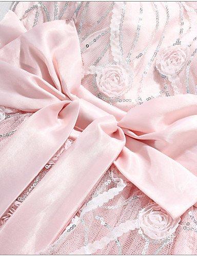 PU&PU Robe Aux femmes Grandes Tailles Grandes Tailles / Soirée Au dessus du genou Satin / Maille , white-xl , white-xl