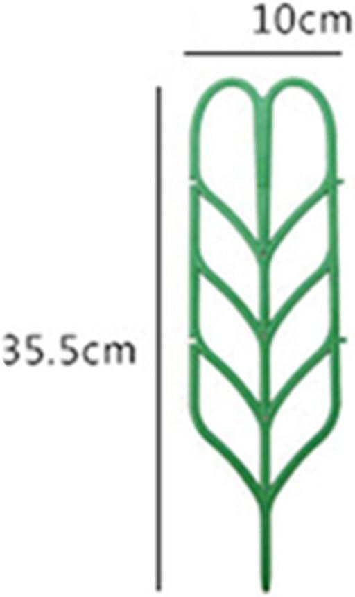DIY Garden Pot Mini Plastic Climbing Frame Plant Support Grow Through Asunflower Plant Support Garden Trellis 3 pcs