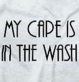 Cape in Wash Funny Shirt Cute Baby Superhero Lego