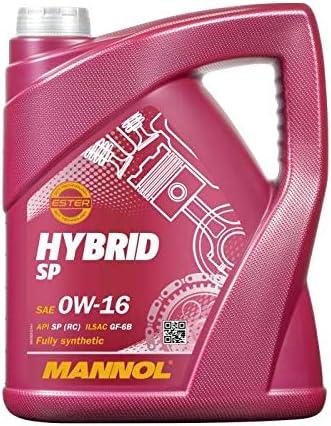 Mannol 5 Liter Hybrid Sp 0w 16 Bisynthetisches MotorÖl Auto