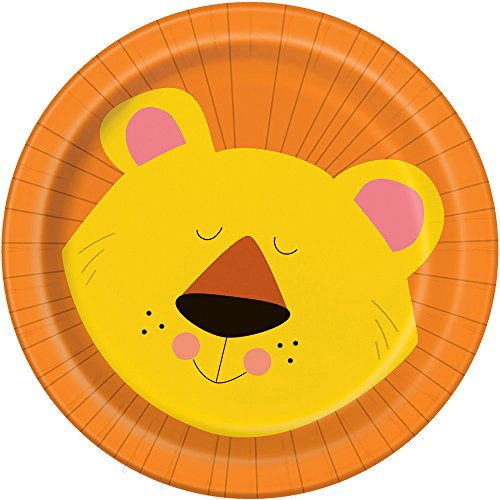 Animal Safari Dessert Plates, 8ct