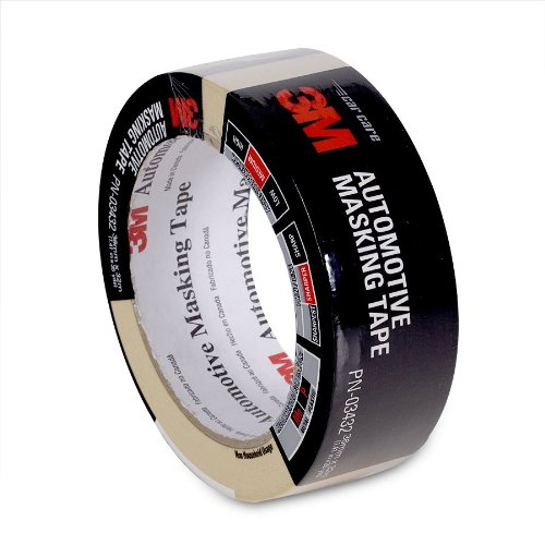 3M 03432 36 mm x 32 m Automotive Masking Tape