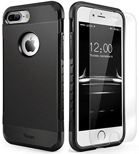 iPhone 7 Plus Case Shockproof, Slim Anti-Scratc...