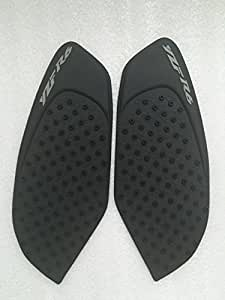 3D Black Dots Gas Fuel Tank Traction Pad Anti Side Slip Protector For YAMAHA YZF R6 08-09