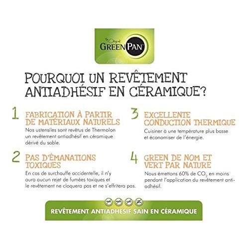 GreenPan Heritage Olla con Revestimiento Antiadherente de cerámica, Aluminio, Negro, 42 x 22 x 12 cm: Amazon.es: Hogar