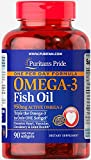 Puritan's Pride One Per Day Omega-3 Fish Oil 1360 mg (950 mg Active Omega-3)-90 Softgels