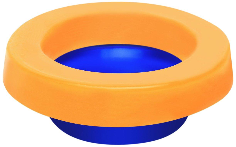 Spacio EG1002USA Elastic Wax -Free Bolts Toilet Gasket, Yellow, Blue by Spacio