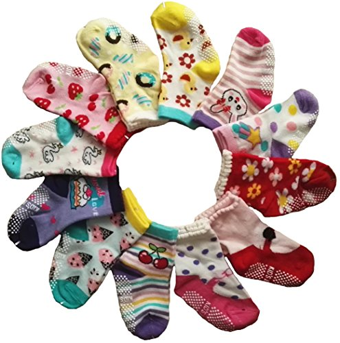 Baby Socks Toddlers Non-skid Cozy Socks