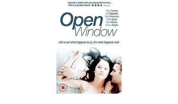 What robin tunney open window scene