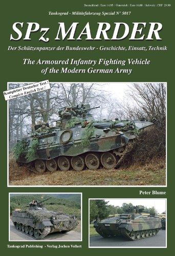 Army Fighting Vehicles - Tankograd Militar Fahrzeug - Special No. 5017 - SPz Marder - the Armoured Infantry Fighting Vehicle of the Modern German Army