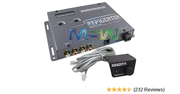 Amazon.com: AudioControl The Epicenter (Color: Grey) Bass Booster Expander with Remote: Cell Phones & Accessories