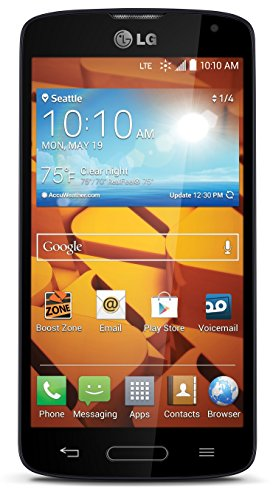 LG Volt Black Boost Mobile