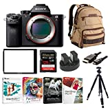 Cheap Sony Alpha a7RII Mirrorless Camera w/Vanguard Backpack & 128GB SD Card Bundle