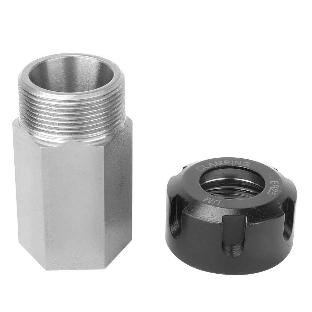 Piazza ER25 Collet Block in acciaio duro con pinza a molla in acciaio inossidabile per macchina da taglio per tornio a CNC