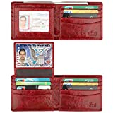 Wallet for Men-Genuine Leather RFID Blocking Bifold Stylish Wallet With 2...