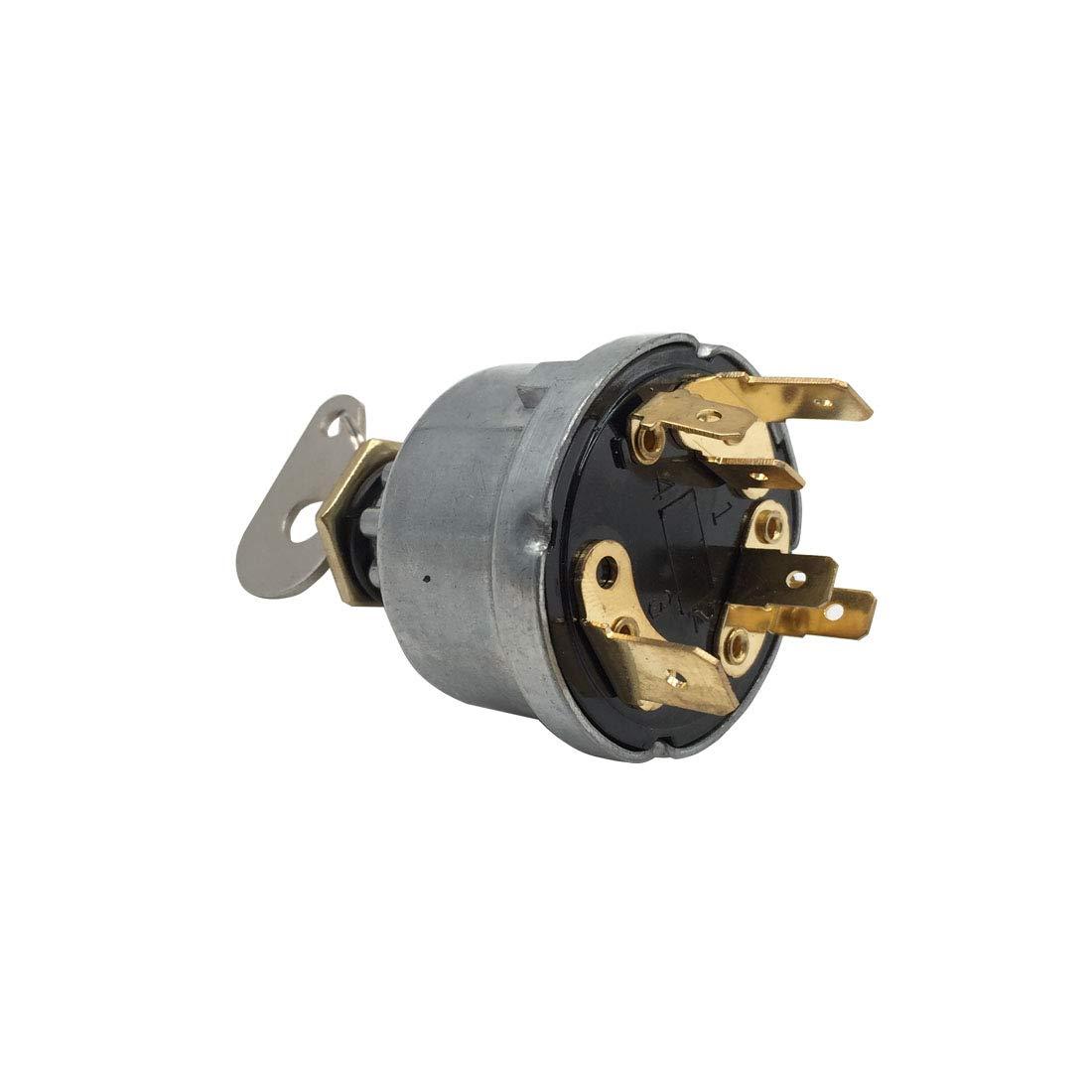 Ignition Switch 1874535M3 3107556R1 for Massey Ferguson 133 153 235 250 299 CASE IH 12846121 Landini BAU2007 Leyland R34228 John Deere