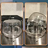 Clear Stove Knob Covers (5 Pack) Child Safety