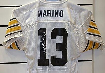 new styles 01d6c 6ba4d Dan Marino Autographed Pitt Jersey at Amazon's Sports ...