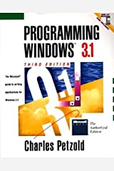 Programming Windows 3.1 3rd edition by Petzold, Charles (1992) Paperback Paperback