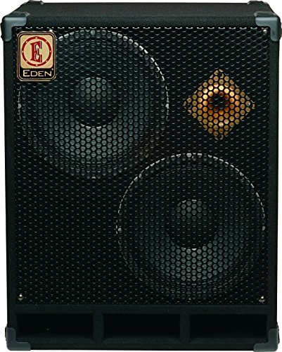Eden D212XST4 D-Series 2 x 12 Inches 400-Watts 4-Ohms Speaker Cabinet