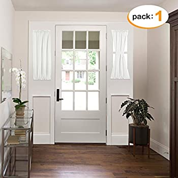 Amazon Com Nicetown Sidelight Panel Curtains For French