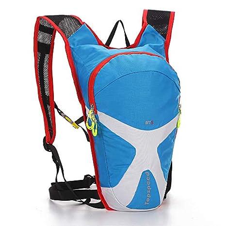 Amazon.com : XUSHSHBA 5L Lightweight Running Hydration Vest Back Pack Cycling Backpack for Outdoor Sports Hiking Climbing Marathon Biking Army Green ...
