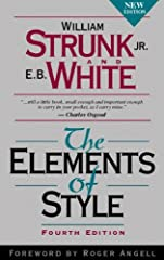 You know the authors' names. You recognize the title. You've probably used this book yourself. This is The Elements of Style, the classic style manual, now in a fourth edition. A new Foreword by Roger Angell reminds readers that the ad...