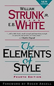 Paperback The Elements of Style, Fourth Edition Book